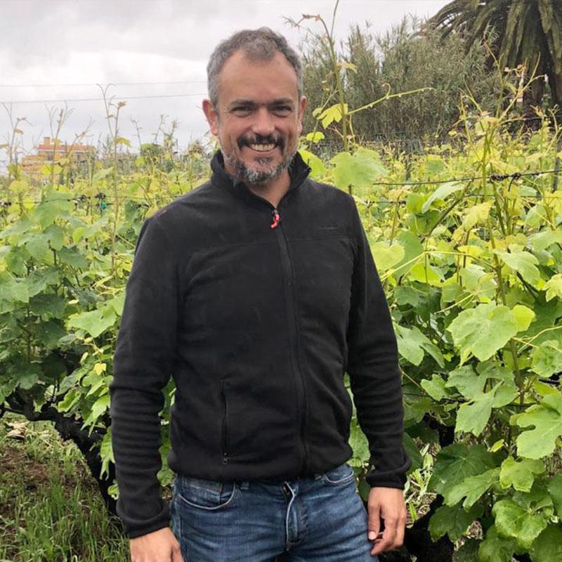 GABRIEL MORALES - Tierra Fundida - Vinos Canarios artesanales